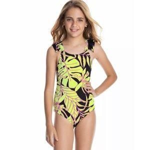 Maaji Tropical Arista Reversible Swimsuit Youth 14